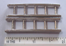 """pair of Arcade cast metal ladders for smaller fire truck 2 """" by 1/2"""""""