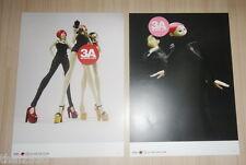 "2X ThreeA 3A Ashley Wood Thailand Toy Expo Isobelle Pascha 12x16.5"" Poster TK TQ"