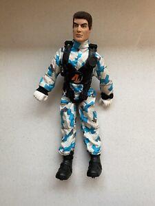 Hasbro 1993 Action Man Arctic Parasender Figure RARE