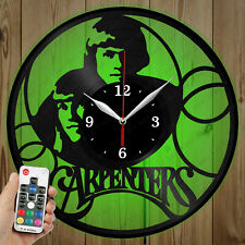 LED Vinyl Clock The Carpenters LED Wall Art Decor Clock Original Gift 4917