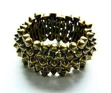 Bracciali di bigiotteria elastico in bronzo