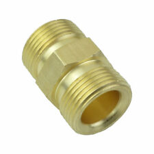M22 X 1.5 Metric Brass Pressure Washer Adapter Fitting