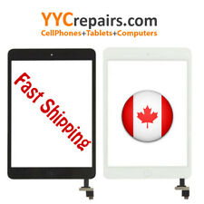 iPad Mini 1 1st Gen Glass Digitizer Touch Screen White + IC + Home Button + Tape