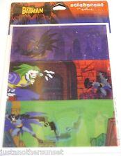 Stickers Decal 1 Sheet Lenticular Joker Batman Action Party Favor New