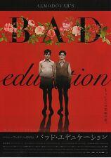 Bad Education - Original Japanese Chirashi Mini Poster style A - Almodovar