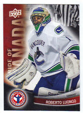 11-12 Upper Deck UD Roberto Luongo Pride of Canada #8 NHCD National Hockey Card