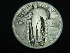 1927 P FULL 4 FIGURE DATE CIRCULATED LIBERTY QUARTER #1