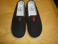 RALPH LAUREN SIZE 10 TODDLER KIDS CANVAS SNEAKERS