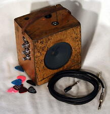 Cigar Box Guitar Amplifier 10 WATTS +Three inputs + Overdrive, Check the Video