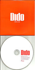 DIDO Life For Rent RADIO EDIT CARDED SLEEVE 2003 UK PROMO CD Single USA SELLER