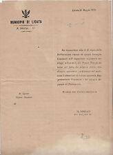 L183-SICILIA-LICATA APPRODI VAPORI POSTALI SUPPLICA DEL COMUNE