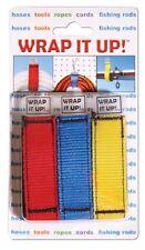 Kwik Tek WRAP IT UP! Rope Cord Hose Fishing Rod Holder