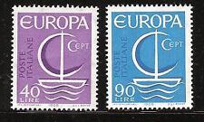 ITALY # 942-3 MNH EUROPA 1966