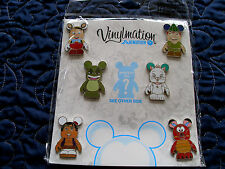 Disney * VINYLMATION ANIMATION - Series #1 * RETIRED 7 pin Booster Set w/ Chaser