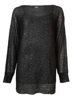 Alfani Women's Metallic Sequined Dolman Sweater
