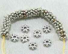 New 1000 PCS Tibetan Silver Daisy Flower Spacer Beads Jewelry Findings 4mm