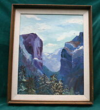 Gregory Peck 1968 Signed & Dated Oil On Board Painting   FINE & RARE