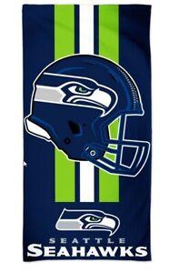 Seattle Seahawks NFL Calcio Telo Mare Asciugamano da Bagno Spiaggia Casco