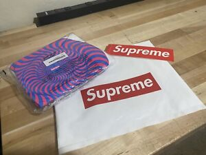 Supreme Spitfire Classic Swirl Tee - White - SS18 - Large - Brand New