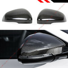 For 2011-18 Jaguar Xe Xk Xkr Xf Xfr Xj Full Carbon Fiber Add-On Mirror Cover Cap