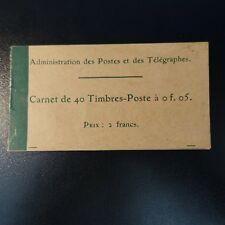 CARNET 137-C 3 / 40 TIMBRES SEMEUSE N°137 OBLITÉRÉ FELDPOSTSTATION DER 6° ARMÉE