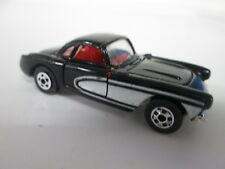 Vintage Road Champs '57 Corvette Black No 58 with box