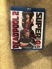 Deadpool 2 Bluray Unrated Cut Verion , 1 Disc Set ( No Digital HD)