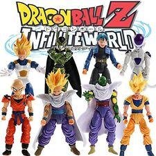 Dragon Ball 8x Action Figures: Super Saiyan Goku Gohan Vegeta Piccolo Cell Trunk