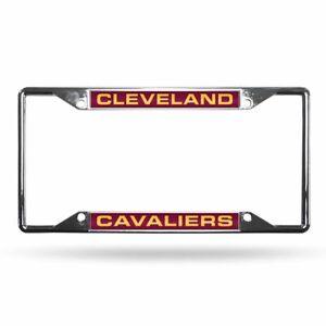 Cleveland Cavaliers NBA All Corner EZ View Metal Laser Cut License Plate Frame