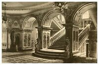Vintage postcard Grand Staircase City Hall Belfast Northern Ireland W E Walton