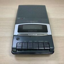 Radio Shack Portable Cassette Tape Recorder CTR-111 No Cord Works with Batteries