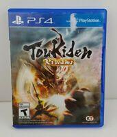 Toukiden Kiwami PS4 Koei Techmo W/ Case PlayStation 4 Tested & Works ok