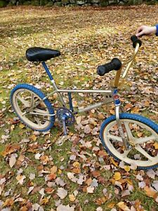 Gary little john tange BMX Freestyle Frame bike Old Mid School Vintage 1976