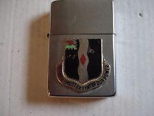 Zippo 60th Infantry Regiment Unit 1980.