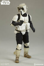 "SIDESHOW STAR WARS 1/6 SCOUT TROOPER 12"" FIGURE RETURN OF THE JEDI 100103 NEW"
