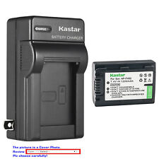 Kastar Battery Wall Charger for Sony NP-FH50 Sony DSLR-A230Y DSLR-A290 DSLR-A330
