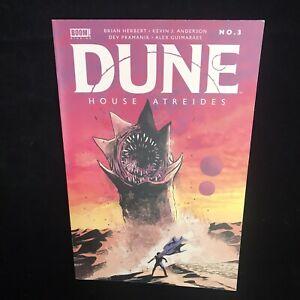 Dune House Atreides Issue #3 Boom! Studios 2020 Cover A Lee Worm Art