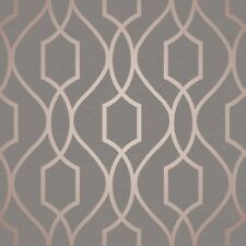 Fine Decor Apex Trellis Copper Wallpaper FD41998 Tapeten