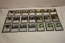 MTG MAGIC THE GATHERING (7 GROUPS OF 3) 21 CARD LOT
