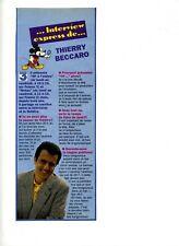 Un article des années 90 pour Mickey Interview de Thierry Beccaro