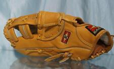 "Excellent EASTON EX130 13"" Brown Leather Left Handed Fielders Glove"