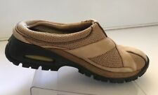 COLE HAAN  6 B Slip On Driving Shoes Womens NIKEAIR Tan Suede & Fabric Casual