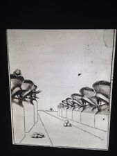 "Max Ernst ""La Cour De Dragon Illustration"" Surrealism Dada 35mm Glass Slide"