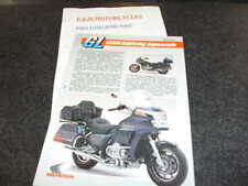 Honda Motorcycle Motorbikes Brochures