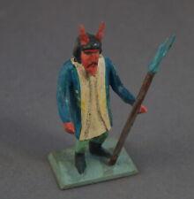 Grulicher Krippenfigur, Krampus / Teufel, 7 cm - Holz geschnitzt   (# 11056)