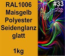 capa del polvo 1kg Polvo Para Recubrimiento ral1006 amarillo amarillo maíz