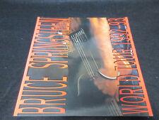 Bruce Springsteen World Tour 1992-93 Program Book w Stickered Guest Pass Boss
