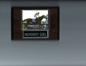 MONOMOY GIRL PLAQUE HORSE RACING