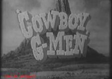 COWBOY G MEN COMPLETE WESTERN SERIES ON 10 DVD'S RUSSEL HAYDEN JACKIE COOGAN