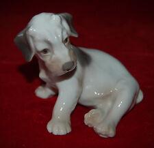 BING & GRONDAHL Sealyham Terrier Puppy #2027 Dahl Jensen Made in Denmark